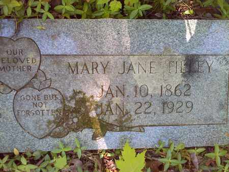 TILLEY, MARY JANE - Mercer County, West Virginia | MARY JANE TILLEY - West Virginia Gravestone Photos