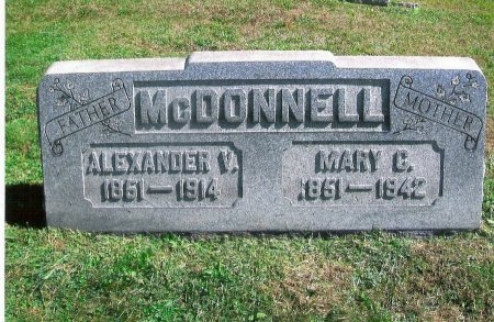 MCDONNELL, ALEXANDER VINCENT  - Ohio County, West Virginia | ALEXANDER VINCENT  MCDONNELL - West Virginia Gravestone Photos