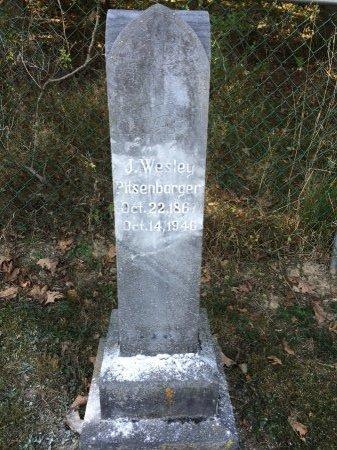 PITSENBARGER, JOHN WESLEY - Pendleton County, West Virginia | JOHN WESLEY PITSENBARGER - West Virginia Gravestone Photos