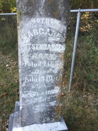 "PITSENBARGER, MARGARET ""MAG"" - Pendleton County, West Virginia 