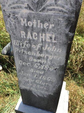 PITSENBARGER, RACHAEL - Pendleton County, West Virginia | RACHAEL PITSENBARGER - West Virginia Gravestone Photos