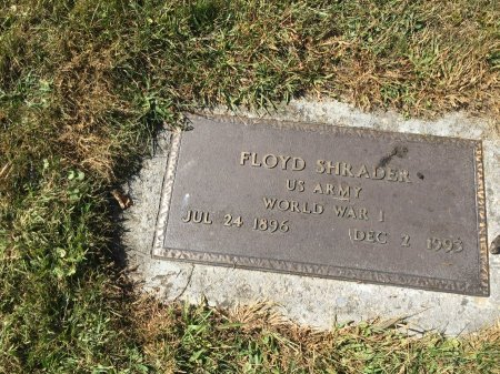 SHRADER, FLOYD - Pendleton County, West Virginia   FLOYD SHRADER - West Virginia Gravestone Photos
