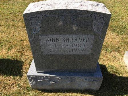SHRADER, JOHN - Pendleton County, West Virginia | JOHN SHRADER - West Virginia Gravestone Photos