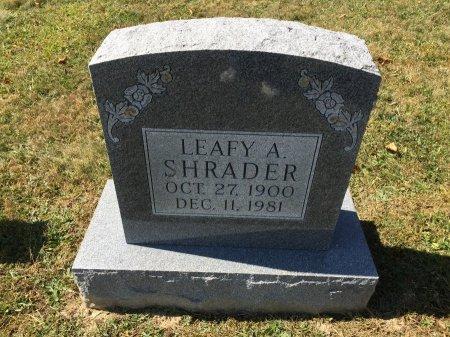 SHRADER, LEAFY ALICE - Pendleton County, West Virginia | LEAFY ALICE SHRADER - West Virginia Gravestone Photos