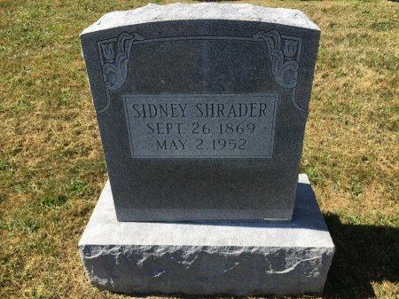 SHRADER, SIDNEY - Pendleton County, West Virginia   SIDNEY SHRADER - West Virginia Gravestone Photos