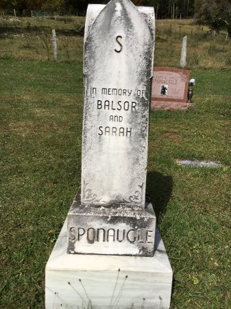 SPONAUGLE, BALSOR - Pendleton County, West Virginia | BALSOR SPONAUGLE - West Virginia Gravestone Photos