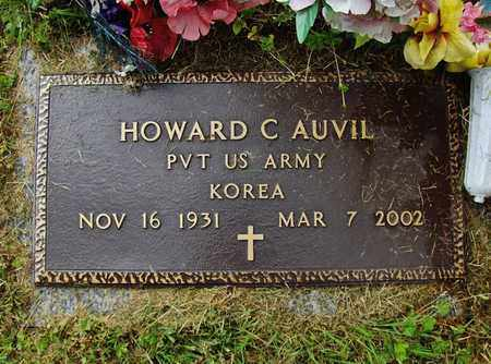 AUVIL (VETERAN KOR), HOWARD C - Preston County, West Virginia | HOWARD C AUVIL (VETERAN KOR) - West Virginia Gravestone Photos