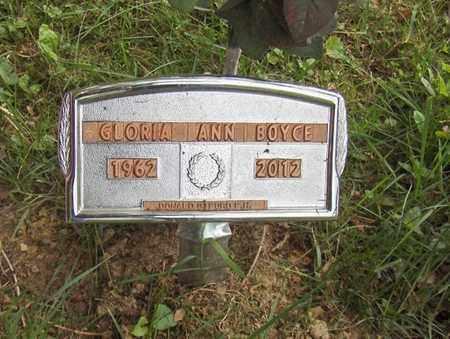 JACKSON BOYCE, GLORIA ANNE - Preston County, West Virginia | GLORIA ANNE JACKSON BOYCE - West Virginia Gravestone Photos
