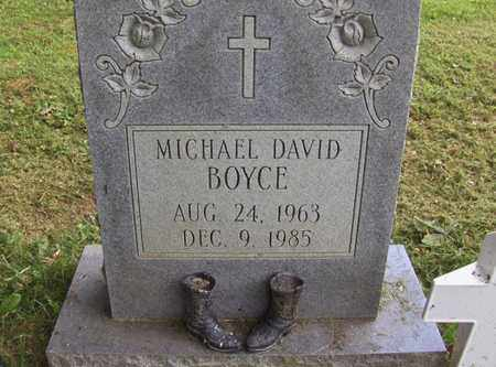 BOYCE, MICHAEL DAVID - Preston County, West Virginia | MICHAEL DAVID BOYCE - West Virginia Gravestone Photos