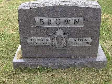 BROWN, CLARA ELLA - Preston County, West Virginia | CLARA ELLA BROWN - West Virginia Gravestone Photos