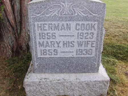COOK, HERMAN - Preston County, West Virginia | HERMAN COOK - West Virginia Gravestone Photos