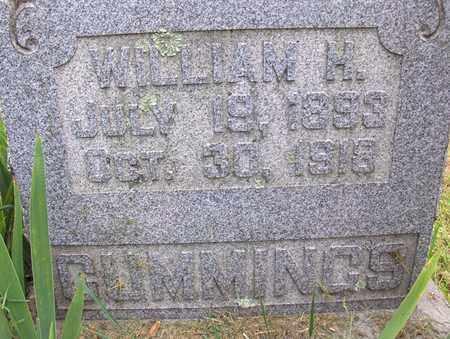 CUMMINGS, WILLIAM H - Preston County, West Virginia | WILLIAM H CUMMINGS - West Virginia Gravestone Photos