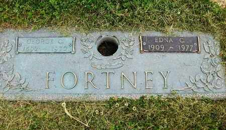 COOK FORTNEY, EDNA - Preston County, West Virginia | EDNA COOK FORTNEY - West Virginia Gravestone Photos