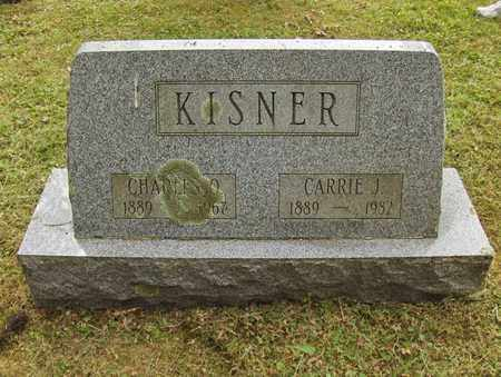 ROBY KISNER, CARRIE JANE - Preston County, West Virginia   CARRIE JANE ROBY KISNER - West Virginia Gravestone Photos