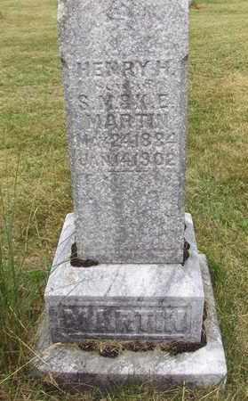 MARTIN, HENRY H - Preston County, West Virginia | HENRY H MARTIN - West Virginia Gravestone Photos