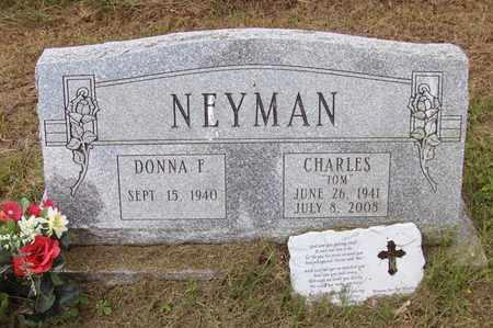 NEYMAN, CHARLES THOMAS - Preston County, West Virginia | CHARLES THOMAS NEYMAN - West Virginia Gravestone Photos