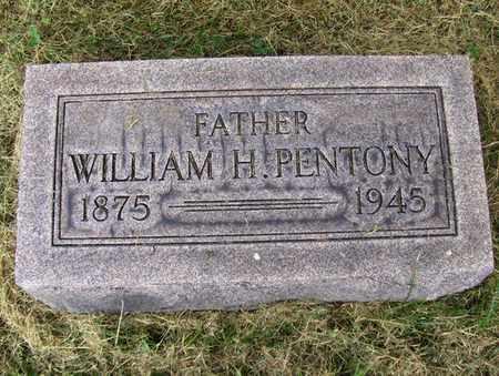 PENTONY, WILLIAM HUBERT - Preston County, West Virginia | WILLIAM HUBERT PENTONY - West Virginia Gravestone Photos