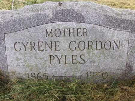 GORDON PYLES, CYRENE - Preston County, West Virginia | CYRENE GORDON PYLES - West Virginia Gravestone Photos