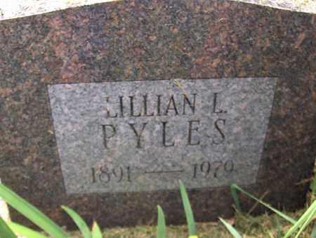 PYLES, LILLIAN L - Preston County, West Virginia | LILLIAN L PYLES - West Virginia Gravestone Photos