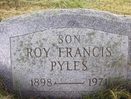PYLES, ROY FRANCIS - Preston County, West Virginia | ROY FRANCIS PYLES - West Virginia Gravestone Photos
