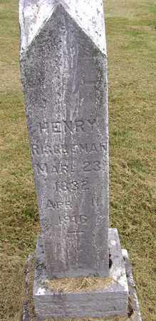 RIGGLEMAN, HENRY B - Preston County, West Virginia | HENRY B RIGGLEMAN - West Virginia Gravestone Photos