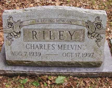 "RILEY, CHARLES ""MELVIN"" - Preston County, West Virginia | CHARLES ""MELVIN"" RILEY - West Virginia Gravestone Photos"