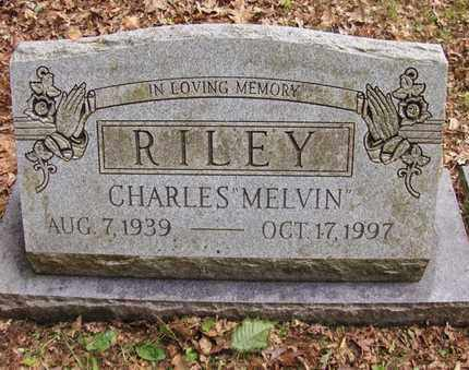 "RILEY, CHARLES ""MELVIN"" - Preston County, West Virginia 