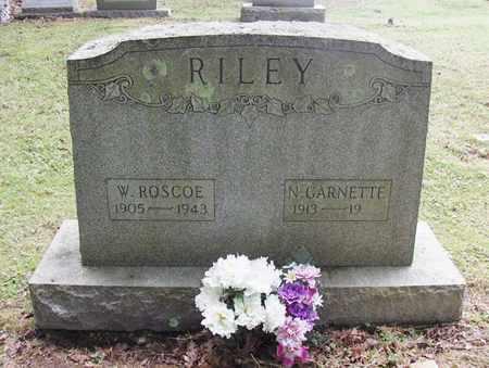 RILEY MCBEE, MILDRED GARNETTE - Preston County, West Virginia | MILDRED GARNETTE RILEY MCBEE - West Virginia Gravestone Photos