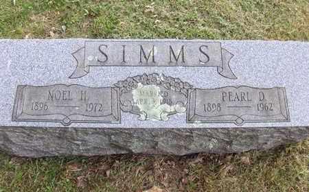 SIMMS, NOEL HOYT - Preston County, West Virginia | NOEL HOYT SIMMS - West Virginia Gravestone Photos