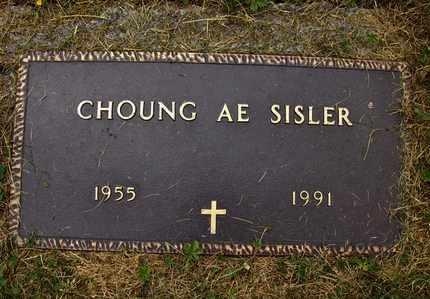 SISLER, CHOUNG AE - Preston County, West Virginia   CHOUNG AE SISLER - West Virginia Gravestone Photos