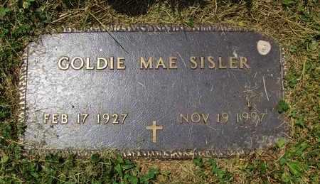 SISLER, GOLDIE MAE - Preston County, West Virginia | GOLDIE MAE SISLER - West Virginia Gravestone Photos