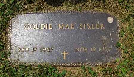 WELSH SISLER, GOLDIE MAE - Preston County, West Virginia | GOLDIE MAE WELSH SISLER - West Virginia Gravestone Photos