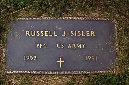 SISLER (VETERAN), RUSSELL JUNIOR - Preston County, West Virginia | RUSSELL JUNIOR SISLER (VETERAN) - West Virginia Gravestone Photos