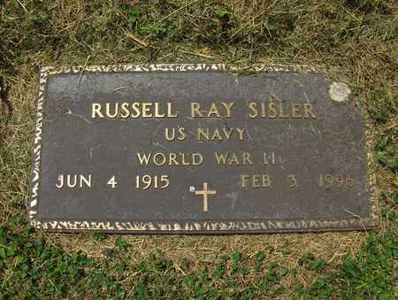 SISLER (VETERAN WWII), RUSSELL RAY - Preston County, West Virginia | RUSSELL RAY SISLER (VETERAN WWII) - West Virginia Gravestone Photos