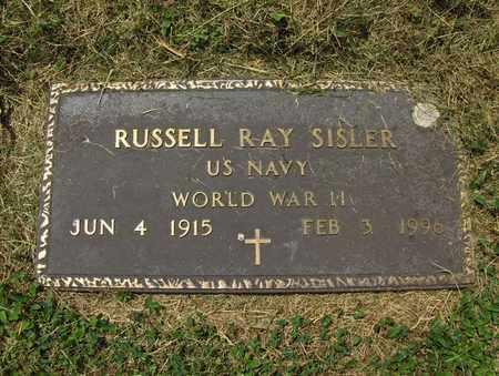 SISLER (VETERAN WWII), RUSSELL RAY - Preston County, West Virginia | RUSSELL RAY SISLER (VETERAN WWII) - West Virginia Gravestone Photos