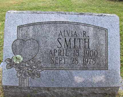 SMITH, ALVIA R - Preston County, West Virginia | ALVIA R SMITH - West Virginia Gravestone Photos