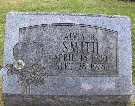 SMITH, ALVIA R - Preston County, West Virginia | ALVIA R SMITH - West Virginia Gravestone Photos