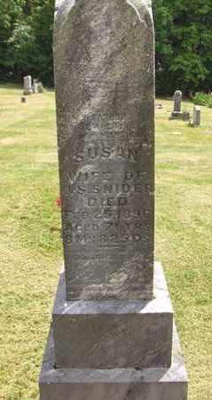 FAST SNIDER, SUSAN - Preston County, West Virginia | SUSAN FAST SNIDER - West Virginia Gravestone Photos