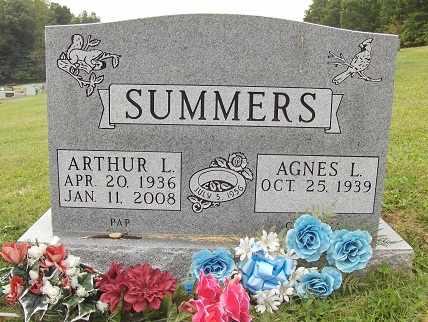SUMMERS, ARTHUR - Preston County, West Virginia | ARTHUR SUMMERS - West Virginia Gravestone Photos