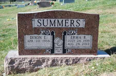 SUMMERS, ERMA - Preston County, West Virginia | ERMA SUMMERS - West Virginia Gravestone Photos