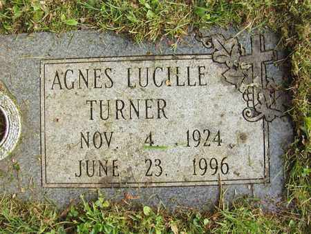 TURNER, AGNES LUCILLE - Preston County, West Virginia   AGNES LUCILLE TURNER - West Virginia Gravestone Photos
