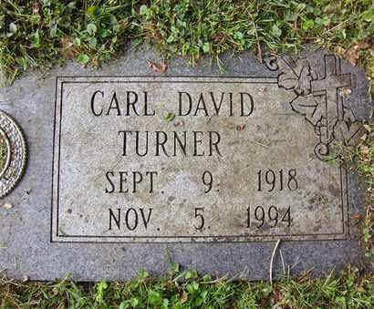 TURNER, CARL DAVID - Preston County, West Virginia   CARL DAVID TURNER - West Virginia Gravestone Photos