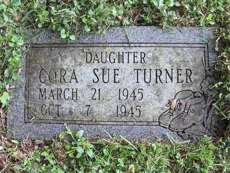 TURNER, CORA SUE - Preston County, West Virginia | CORA SUE TURNER - West Virginia Gravestone Photos