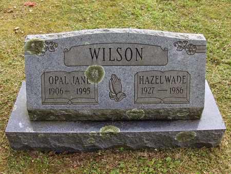 WILSON, HAZEL WADE - Preston County, West Virginia   HAZEL WADE WILSON - West Virginia Gravestone Photos