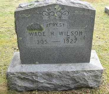 WILSON, WADE H - Preston County, West Virginia | WADE H WILSON - West Virginia Gravestone Photos