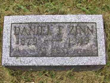 ZINN, DANIEL FAY - Preston County, West Virginia | DANIEL FAY ZINN - West Virginia Gravestone Photos