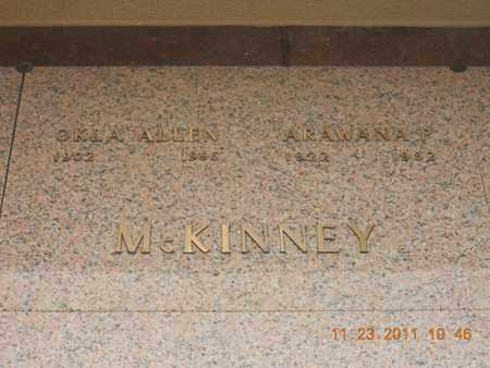 MCKINNEY, OKLA ALLEN - Raleigh County, West Virginia   OKLA ALLEN MCKINNEY - West Virginia Gravestone Photos