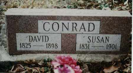CONRAD, DAVID - Randolph County, West Virginia | DAVID CONRAD - West Virginia Gravestone Photos