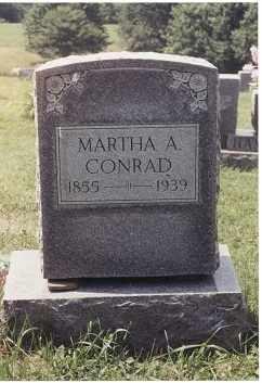 CONRAD, MARTHA ANN - Randolph County, West Virginia   MARTHA ANN CONRAD - West Virginia Gravestone Photos