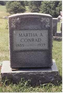 HAMRICK CONRAD, MARTHA ANN - Randolph County, West Virginia | MARTHA ANN HAMRICK CONRAD - West Virginia Gravestone Photos